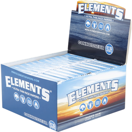 Raw Elements King Size Connoisseur W/Tips (Box Of 24) - 360 Alternative