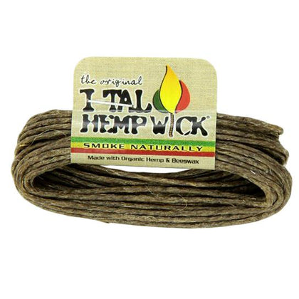 I-Tal Organic Hemp Wick 15.5ft - 360 Alternative