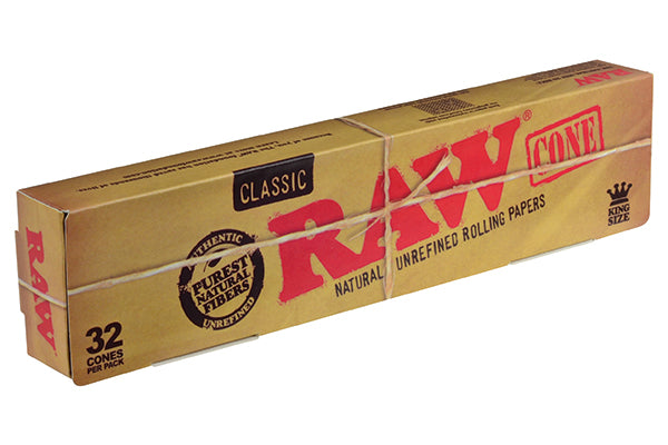 RAW Pre-Roll Cone Classic King Size (32 Cone Pack) - 360 Alternative
