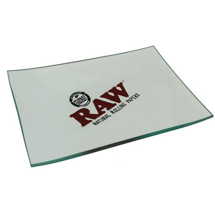 Raw Glass Mini Rolling Tray - 360 Alternative