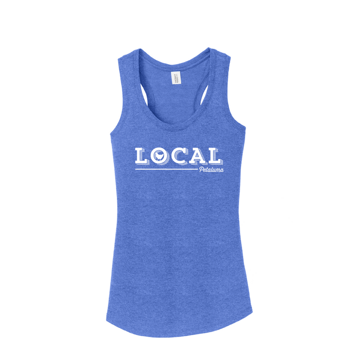 Petaluma Local Racerback Tee