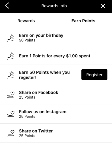 how to earn loyalty points