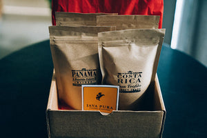 Regular Sampler Box of 4 Coffees