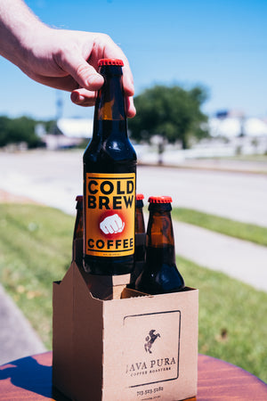4-Pack Cold Brew Long Necks