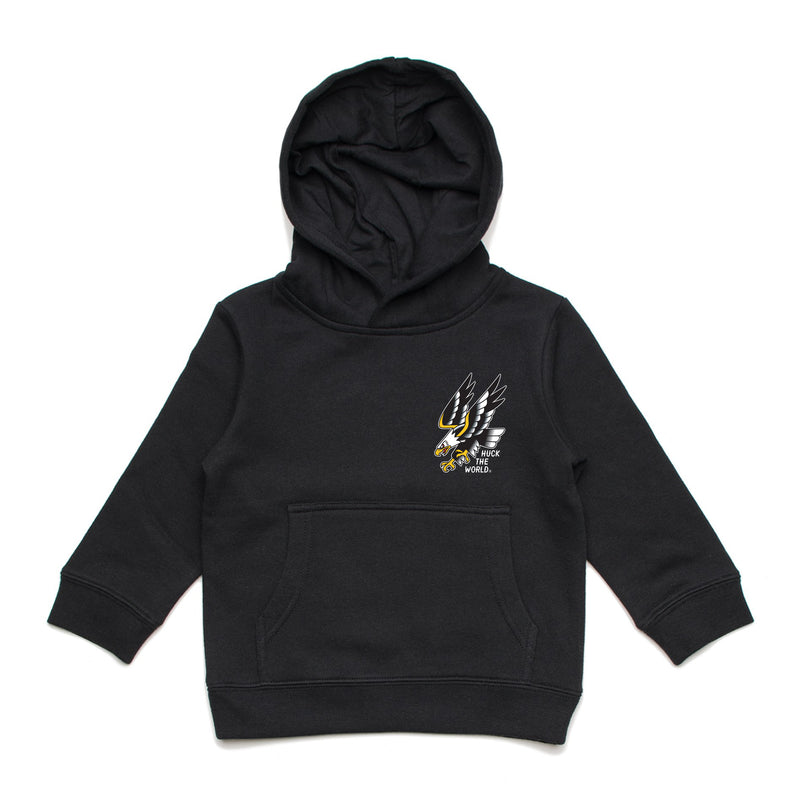 "HTW - ""Flash Eagle"" Youth Hood Black"