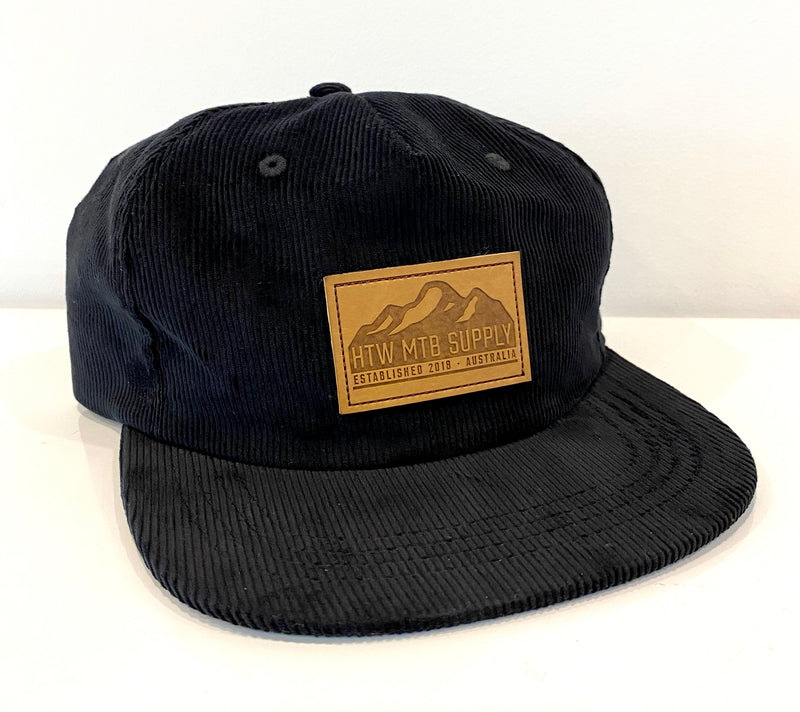 "HTW - ""Mountains"" Cord Snapback Black"
