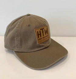 "HTW - ""Keira Patch"" Race Dad Cap Tan"