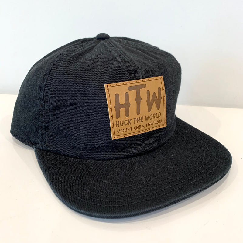 "HTW - ""Keira Patch"" Race Dad Cap Black"