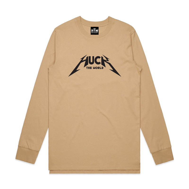 "HTW - ""Metal"" L/S Tee Tan"