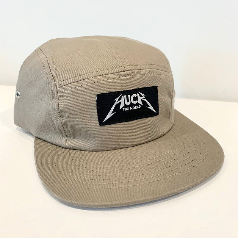 "HTW - ""Metal"" 5-Panel Tan"