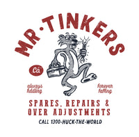 "HTW - ""MR TINKERS"" Cotton Tee Washed Sand"