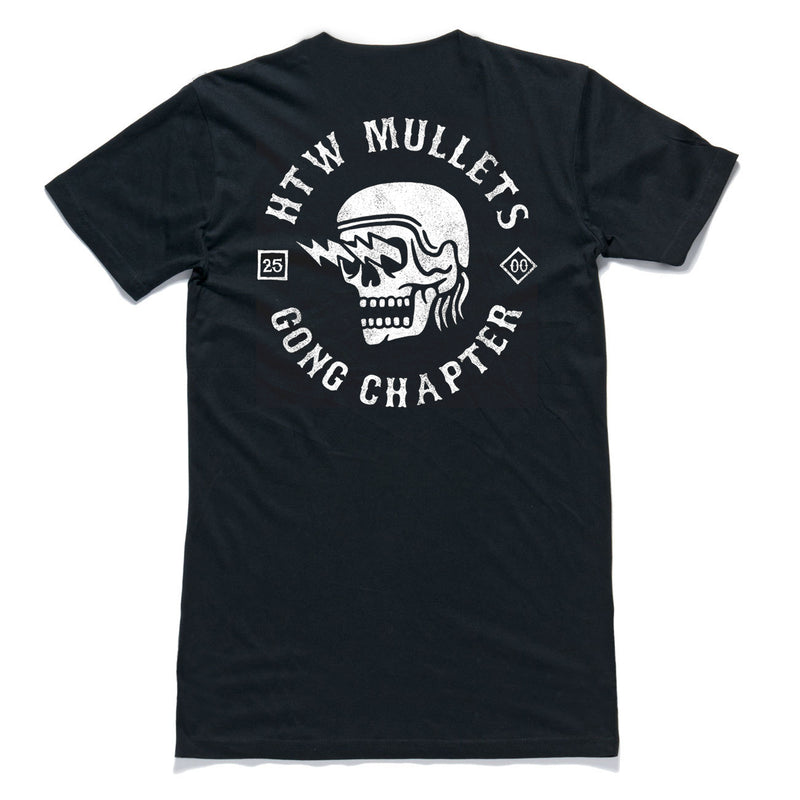 "HTW - ""Mullets"" Tall Tee Black"