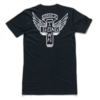 "HTW - ""Lords"" Tall Tee Black"