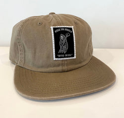 "HTW - ""Reaper"" Race Dad Cap Tan"