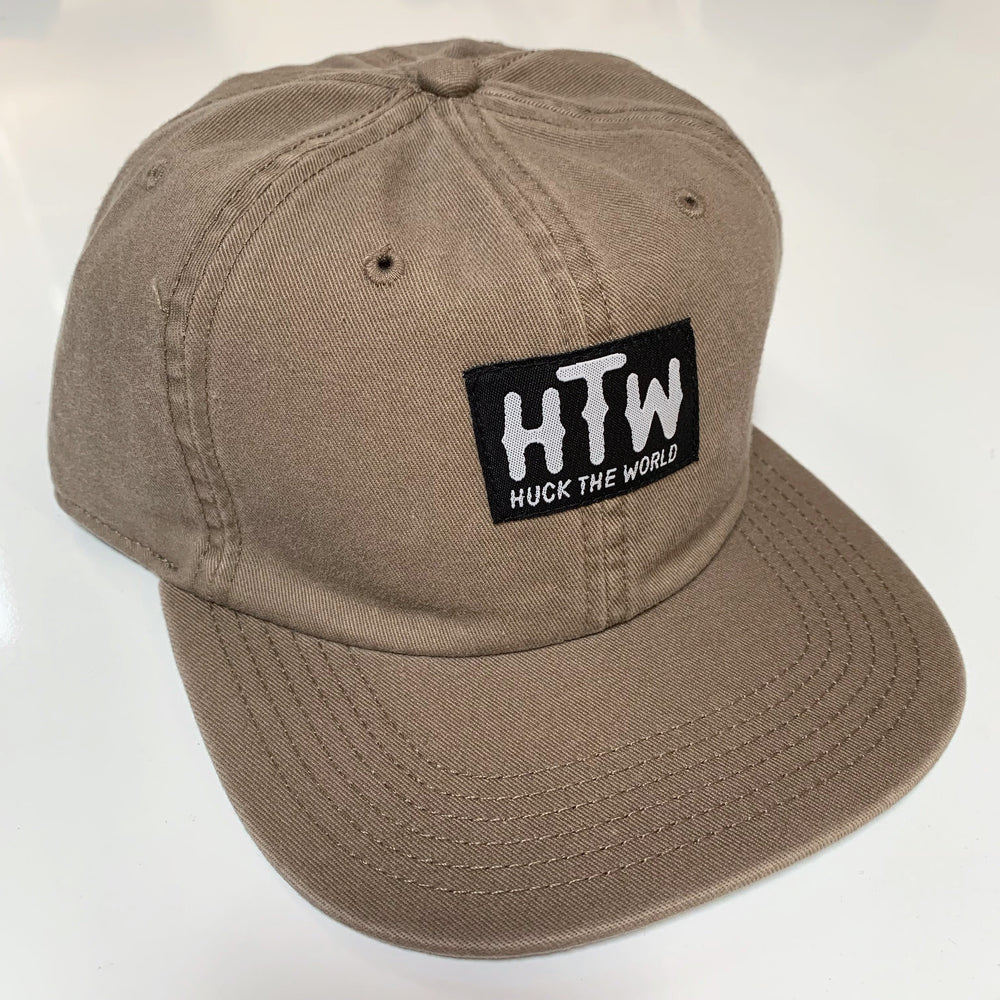 "HTW - ""Logo"" Race Dad Cap Tan"