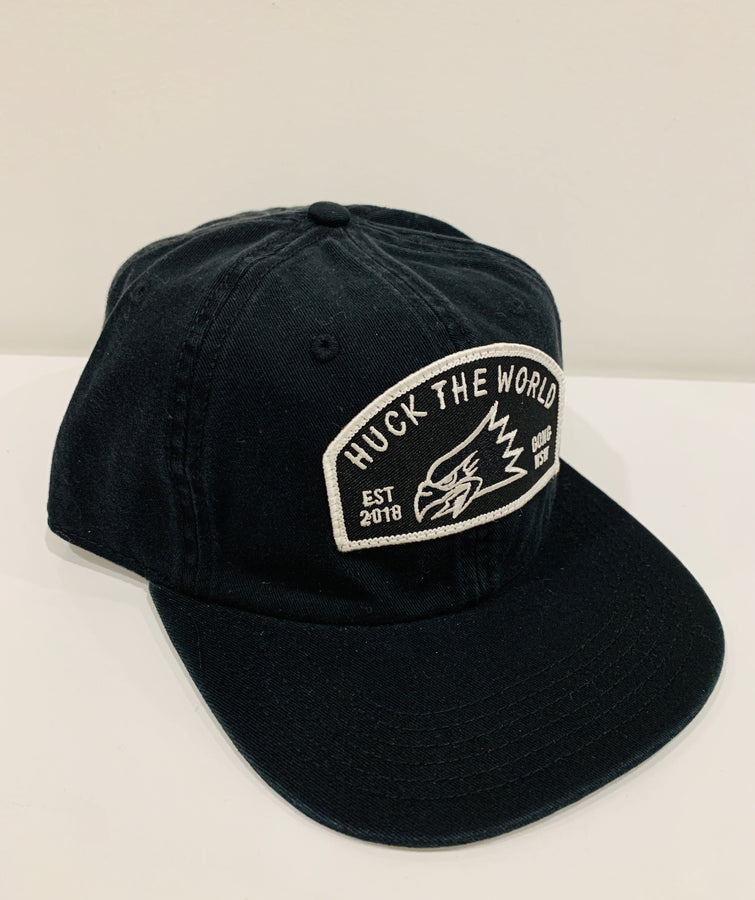 "HTW - ""Gong Eagle"" Race Dad Cap Black"