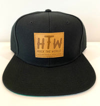 "HTW - ""Keira Patch"" Snapback Black"