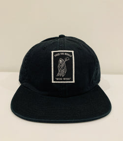 "HTW - ""Reaper"" Race Dad Cap Black"