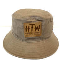 "HTW - ""Keira Patch"" Hecklers Bucket Tan"