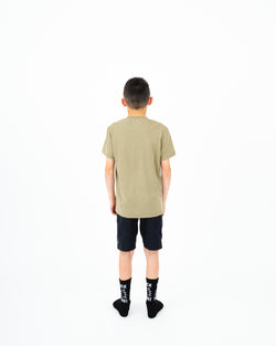 "HTW - ""Mountain"" Youth S/S Tech Ride Tee Dusty Olive"