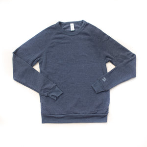 Rah-Rah Essentials | Navy Crewneck Sweatshirt