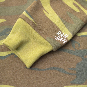 Rah-Rah Essentials | Camo Crewneck Sweatshirt
