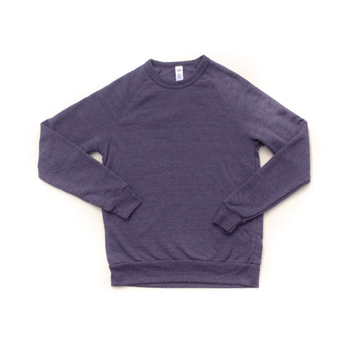 Rah-Rah Essentials | Vintage Purple Crewneck Sweatshirt