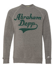 Load image into Gallery viewer, Abraham Depp Script Sweatshirt | Adult Unisex