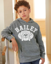 Load image into Gallery viewer, Bailey Bulldogs Youth Unisex Hoodie | Heather Grey