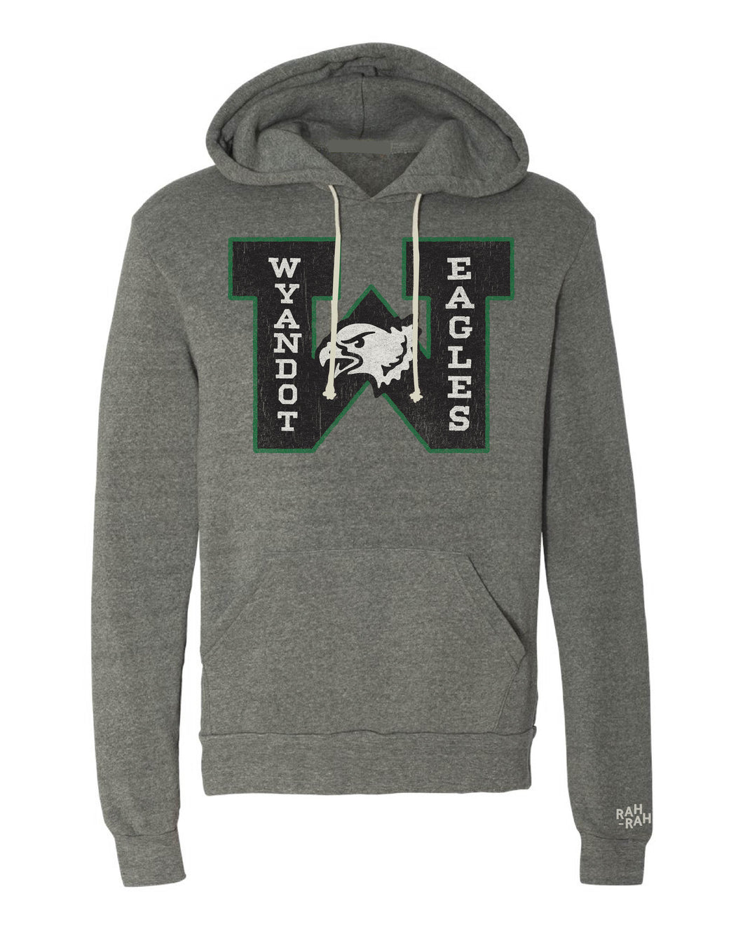 Wyandot Eagles Block Adult Unisex Hoodie