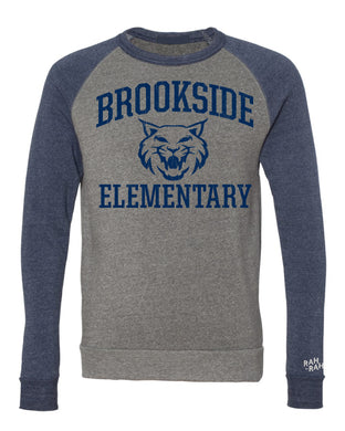 Brookside Bobcat Adult Colorblock Sweatshirt