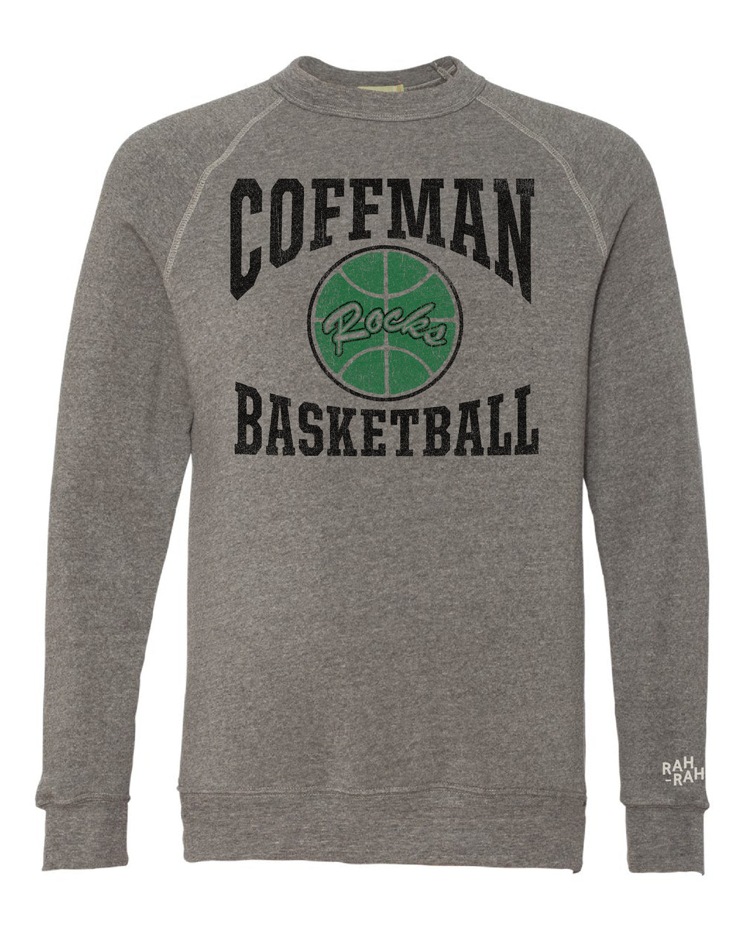 Coffman Basketball Throwback Sweatshirt | Heather Grey