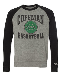 Coffman Basketball Throwback Sweatshirt | Colorblock