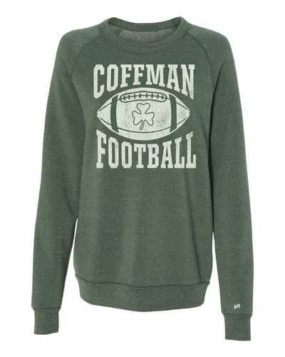 Coffman Football Icon Sweatshirt | Vintage Green