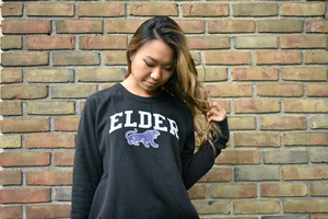 Elder Block Sweatshirt | Vintage Black