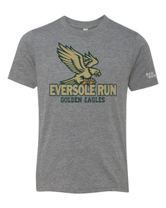 Eversole Flying Eagle Youth Grey Tee