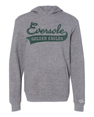 Eversole Script Youth Grey Hoodie