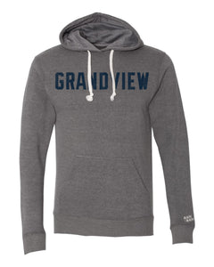 Grandview Vintage Block Hoodie | Heather Grey