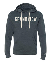 Load image into Gallery viewer, Grandview Vintage Block Hoodie | Vintage Navy