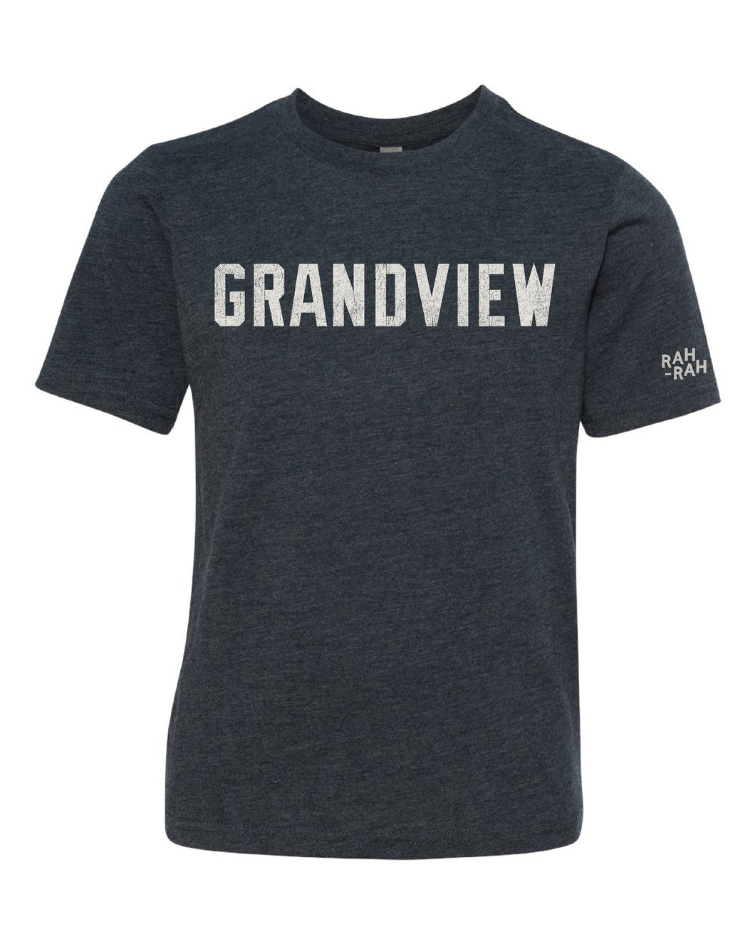Grandview Vintage Block YOUTH Tee | Vintage Navy