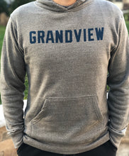 Load image into Gallery viewer, Grandview Vintage Block Hoodie | Heather Grey