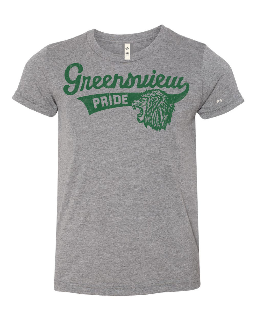 Youth Greensview Script Tee
