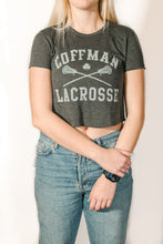 Load image into Gallery viewer, Coffman LAX Crop Top Tee