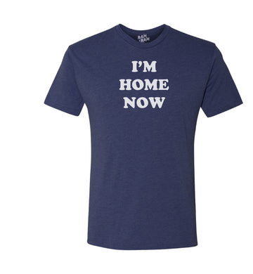 I'm Home Now Tee | Navy