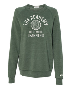 Unisex Remote Learning Academy Sweatshirt | Vintage Green