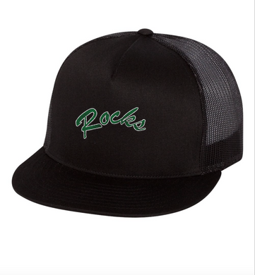 Rocks Logo Trucker Hat
