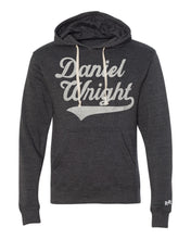 Load image into Gallery viewer, Daniel Wright Adult Unisex Script Hoodie