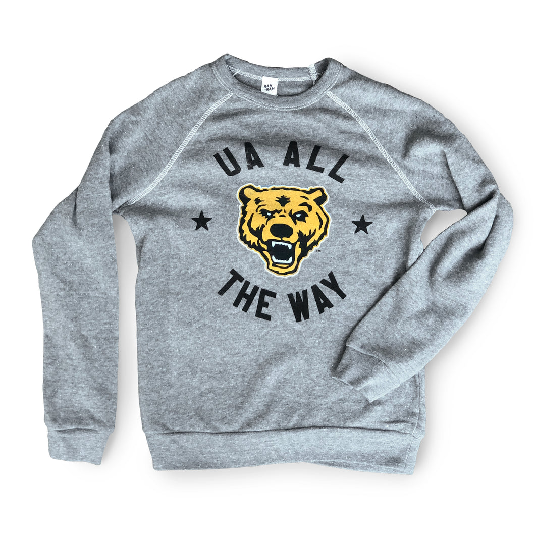 UA All The Way Youth Sweatshirt