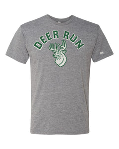 Unisex Adult Deer Run Mascot Tee