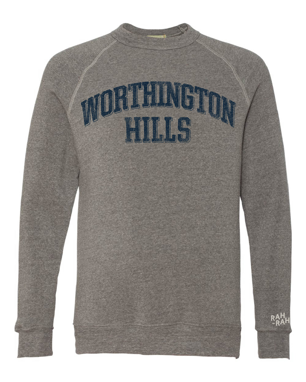 WH Block GREY Adult Sweatshirt